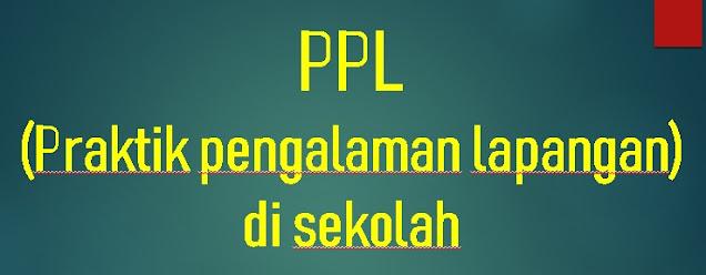 Contoh Laporan PPL (Praktik Pengalaman Lapangan) Di Sekolah SD/MI, SMP/MTs, SMA/MA