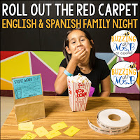 https://www.teacherspayteachers.com/Product/Movie-Family-Literacy-Night-Editable-Bundle-in-English-and-Spanish-4853167