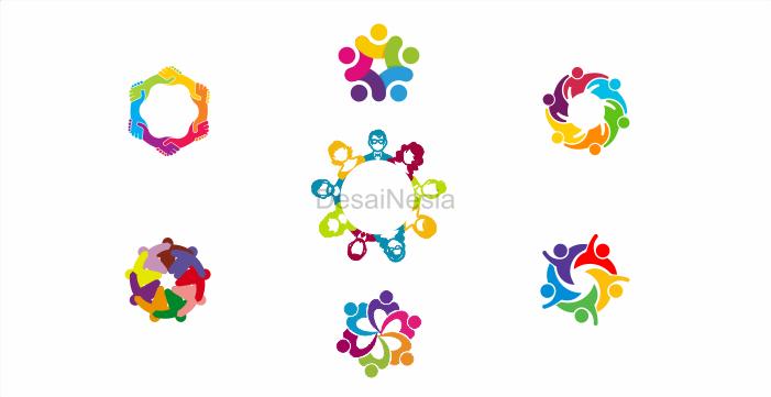 download logo people round cdr gratis