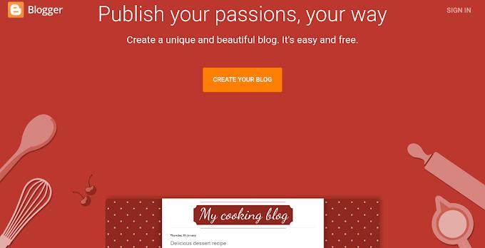 How to make website using blogger - full tutorial for blogging