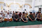 Polres Wajo Melaksanakan Zikir dan Doa Bersama di Masjid Jami Sengkang