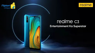 Realme c3 meluncur di India