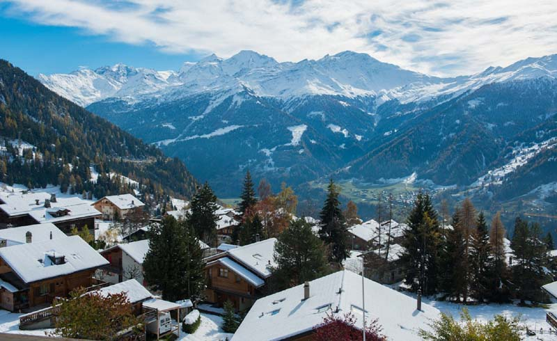 Itineraries, Skiing, Switzerland, Verbier
