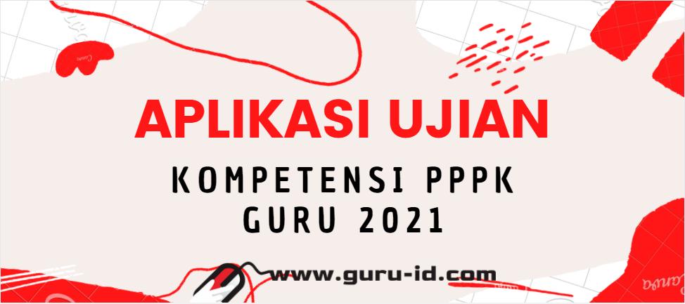 gambar aplikasi tes kompetensi pppk guru 2021
