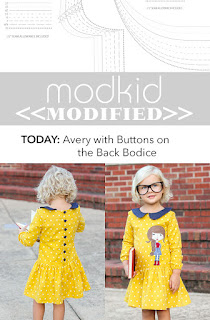 Modkid Avery with Button Back Bodice