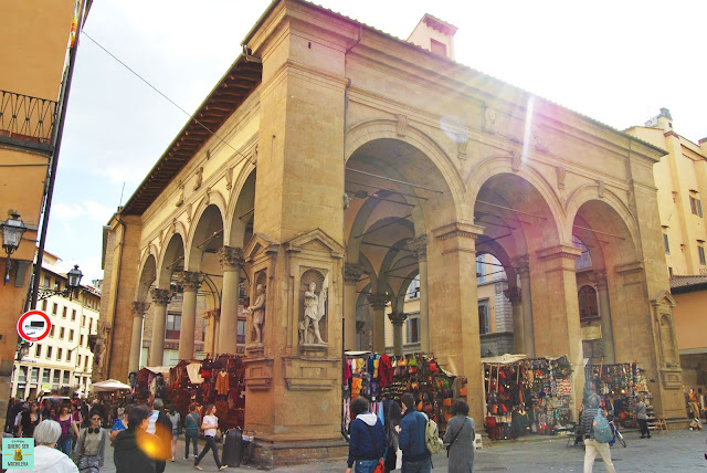 Logia del Mercato Nuovo en Florencia