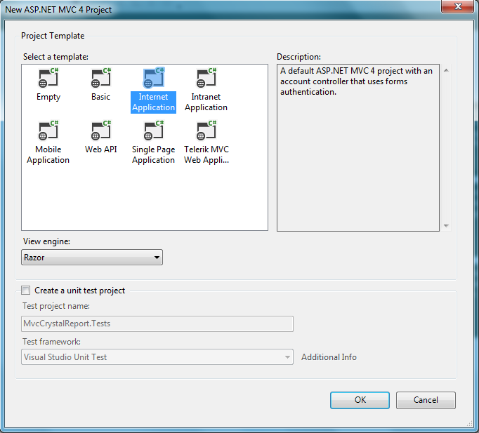 Powered by Passion: ASP NET MVC razor SAP Crystal report