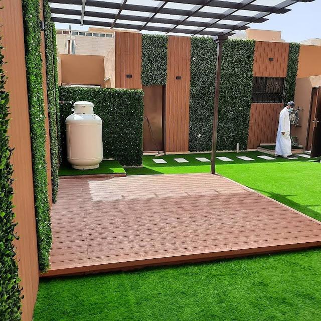 إنشاء حديقة منزلية في مكة أفضل شركة تنسيق حدائق بمكة