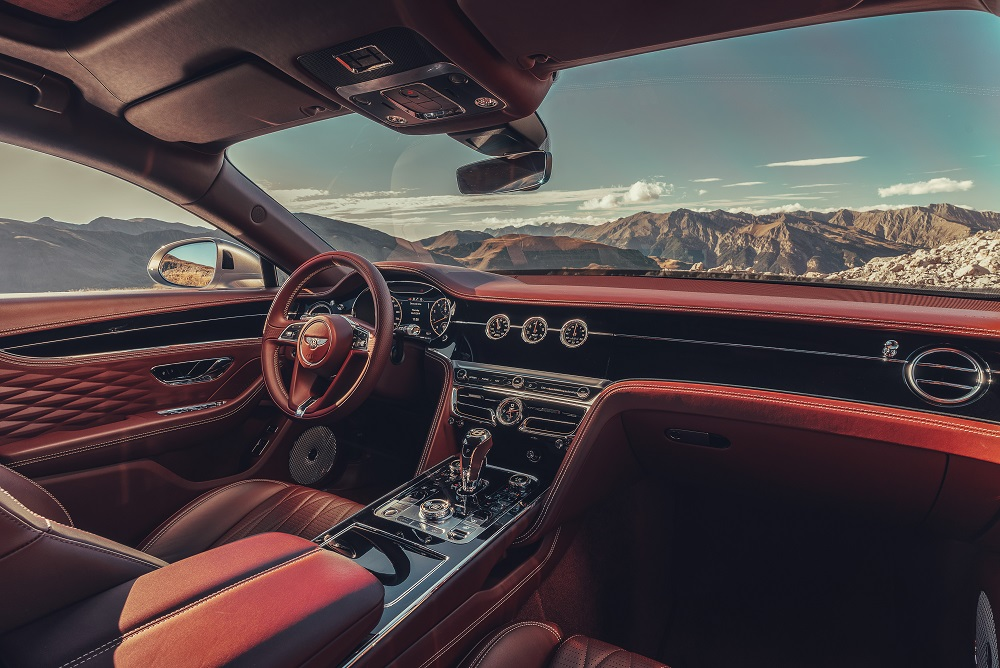 Bentley Flying Spur award Best Automotive Interior by Robb Report