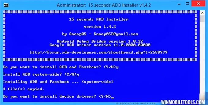 15 Second ADB Installer 2021 Latest Version For Windows Free Download