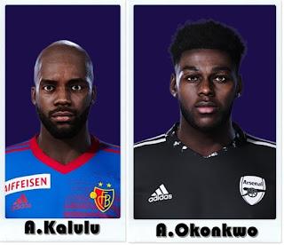 PES 2021 Faces Aldo Kalulu & Arthur Okonkwo  by Shaft