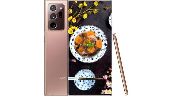 Điện thoại Samsung Galaxy Note 20 Ultra Đồng