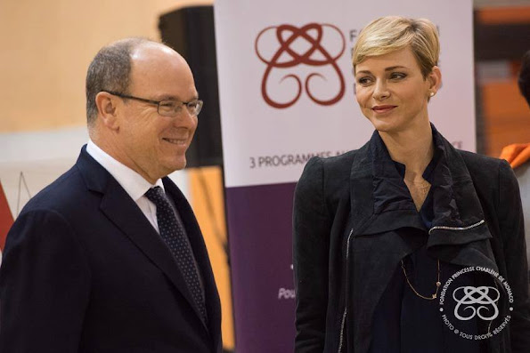 Princess Charlene and Prince Albert II of Monaco participated in the 3rd Princess Charlene Rally.