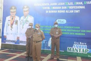 Gubernur Jambi Para ASN Di Masing-Masing OPD Tetap Solid Bekerja