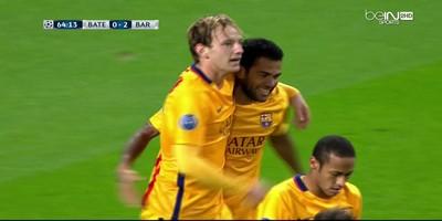 UEFA Group E : Bate Borisov 0 vs 2 Barcelona 20-10-2015