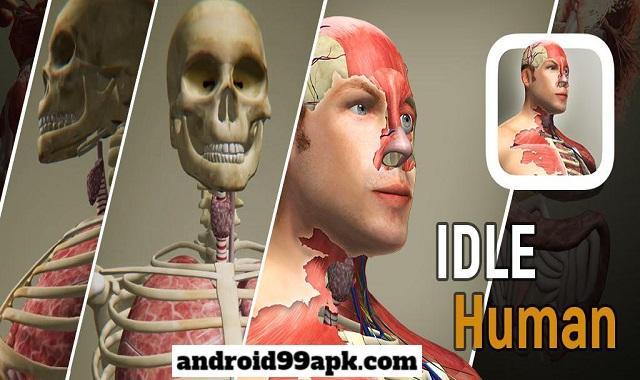 لعبة Idle Human v1.5.1 مهكرة كاملة بحجم 136 MB للأندرويد