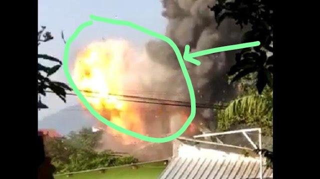 Gudang Bahan Peledak dan Bom Meledak di Markas Brimob Jateng