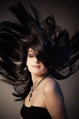 Rambut Hitam Alami Memo Saqee