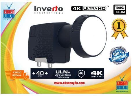 Inverto Premium Doublet (Twin) Universal 40mm PLL Lnb-Dual Output İnverto Lnb