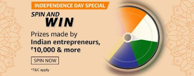Amazon Independence Special Day Quiz Answer