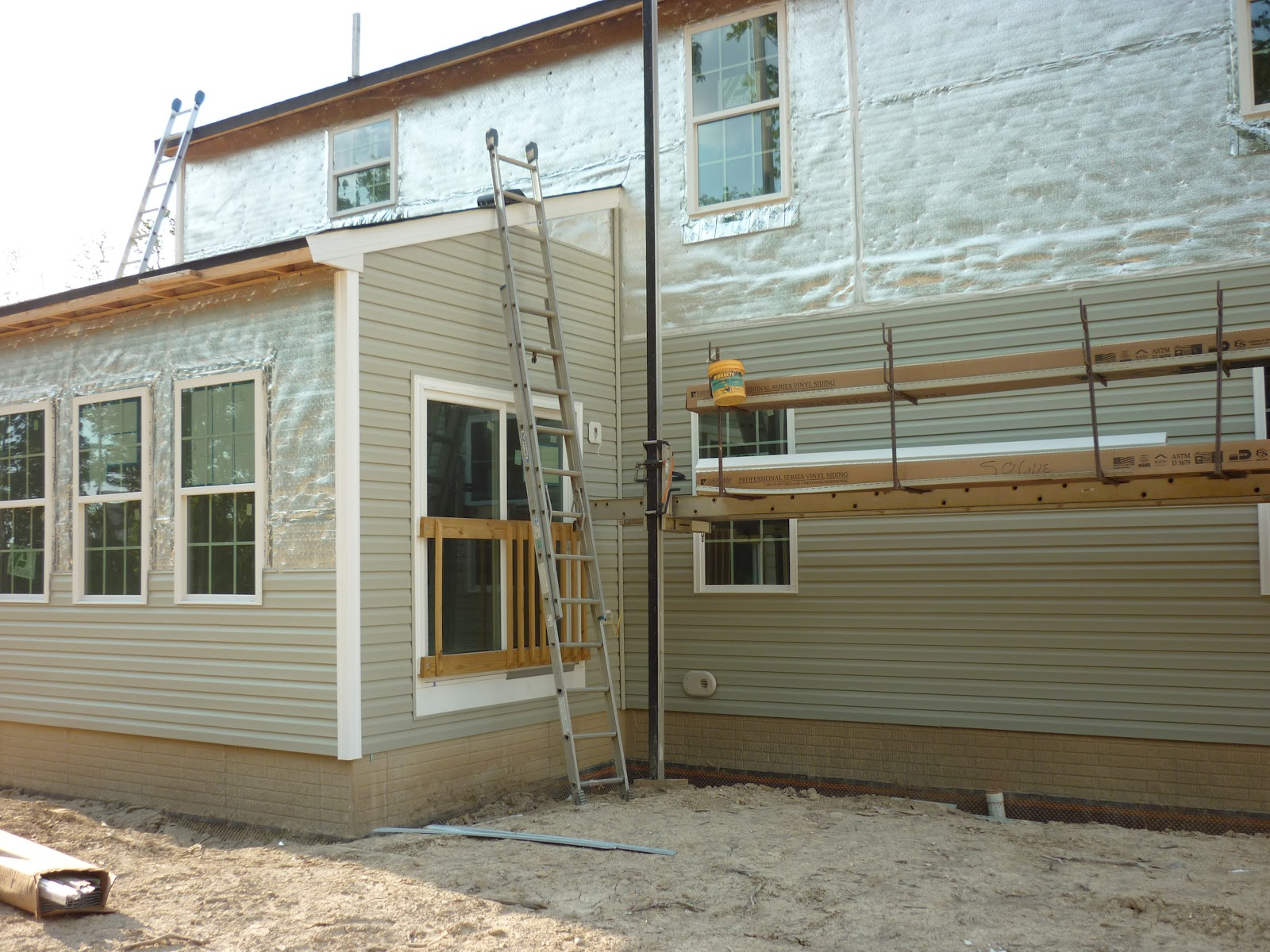 Home Sweet Home Build Day 55 In Pictures