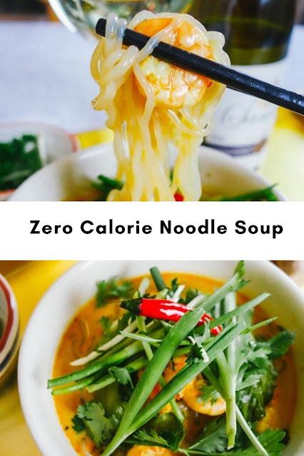 Zero Calorie Noodle Soup