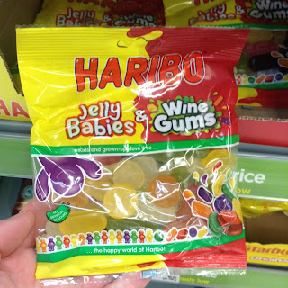 haribo jelly babies and winegums