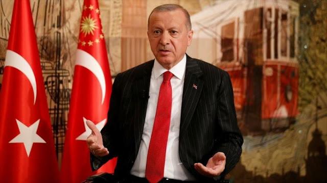 Erdogan alerta a EEUU contra medidas que dañen Turquía