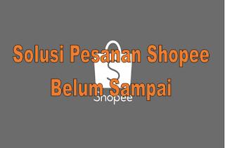 Solusi Jika Pesanan Shopee Belum Sampai