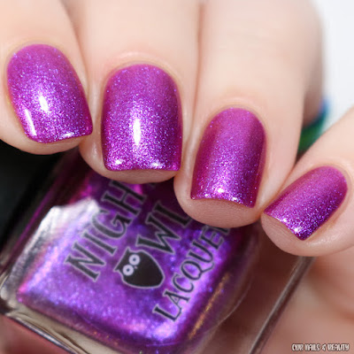 Night Owl Lacquer-Tears of a Dragon
