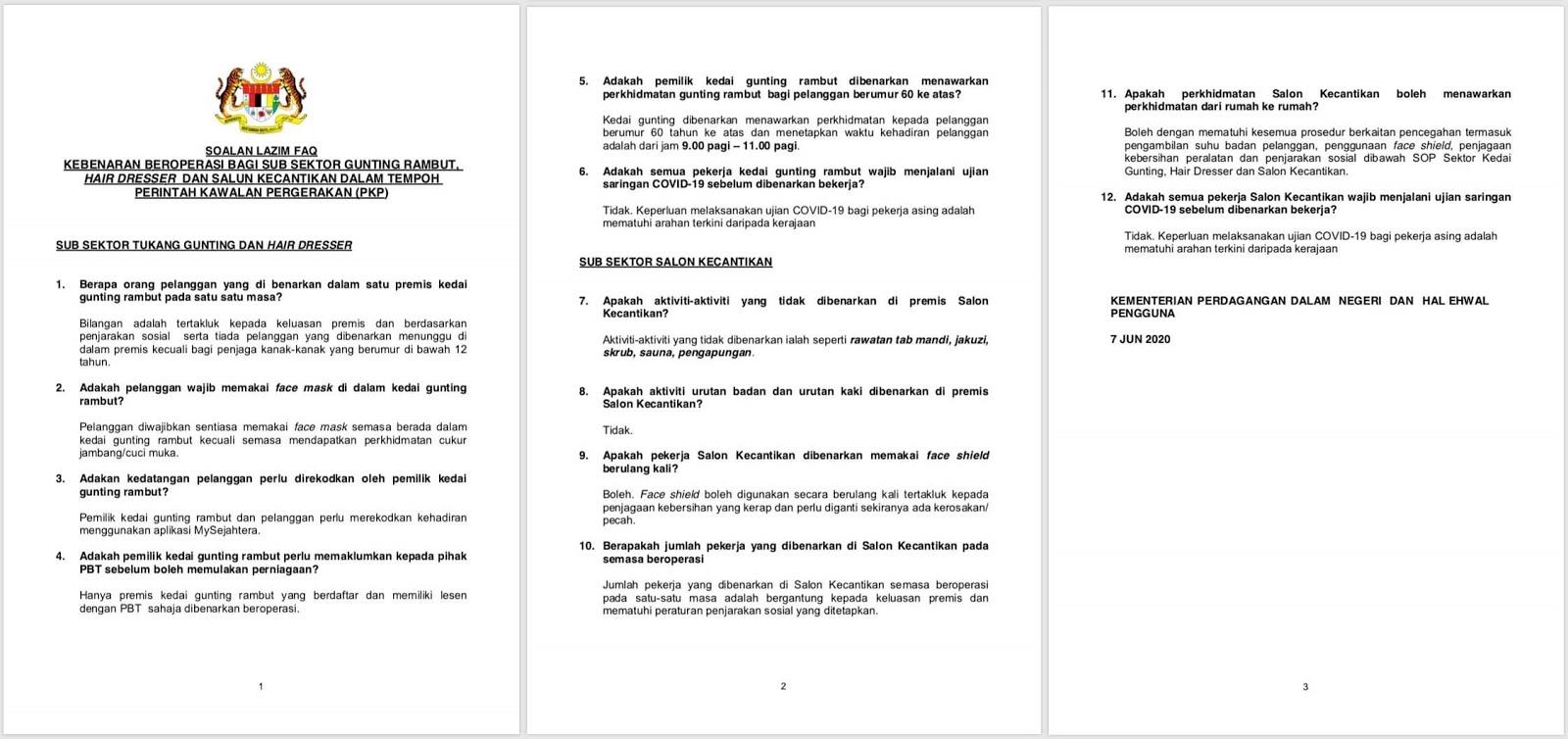 Info Covid Malaysia