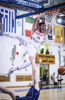 FIBA U20 Europe Türkiye - Britanya - Mert Akay