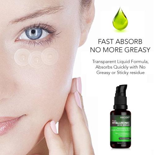 Recast Hyaluronic Acid Serum For Face, Skin