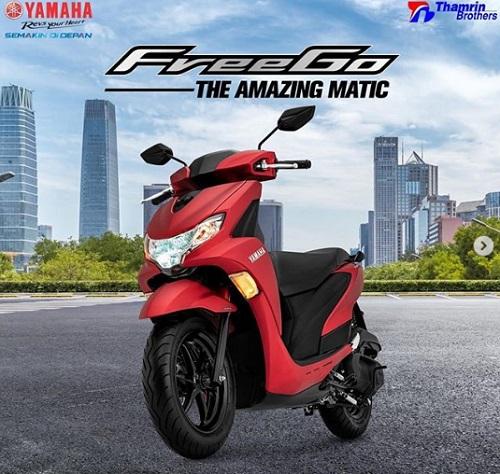 Harga Review Yamaha FreeGo Terbaru