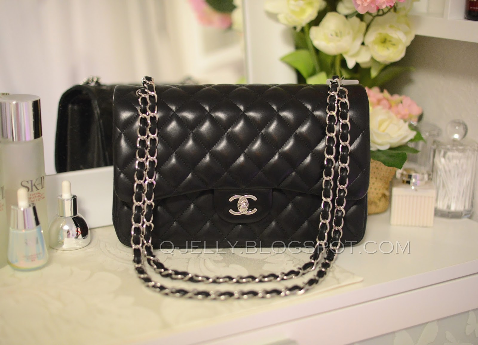 Both Bags Are Black And Have Silver Hardware Although It Will Look A Bit Goldish With Flash