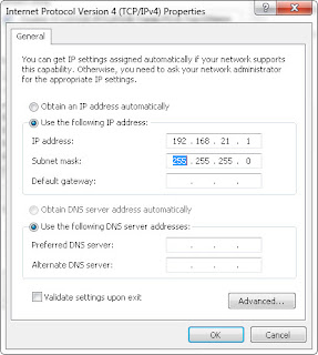 Cara Mudah Sharing Data/File di Windows 7 dengan Kabel LAN