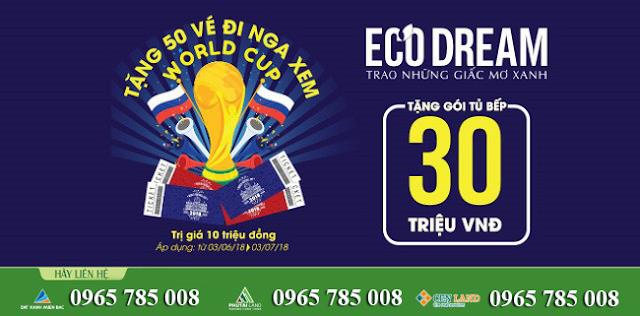 Eco Dream đồng hành cùng World Cup