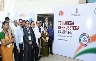 Minister Harsh Vardhan launches 'TB Harega Desh Jeetega' Campaign