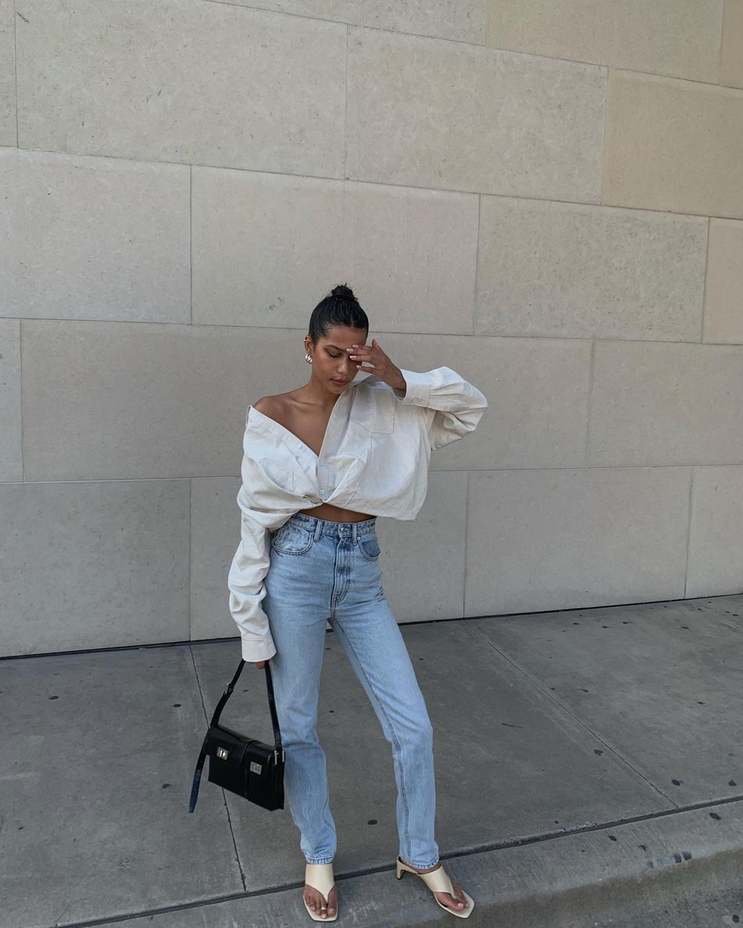 How to Style A Button Down For Fall
