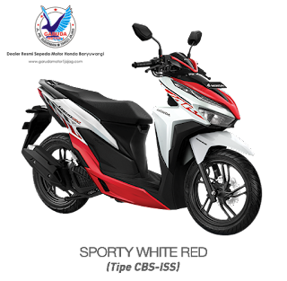 vario 150 sporty red terbaru 2020