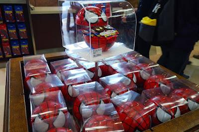 Cute Spiderman's merchandise at Universal Studios Japan