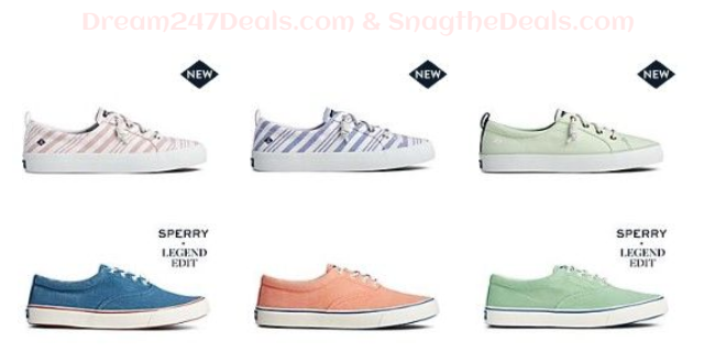 Sperry Exclusive: $29.99 Select Sneakers