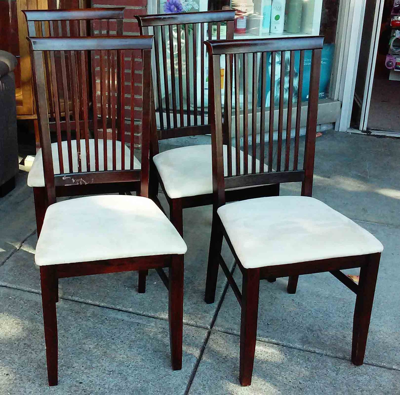 asian dining room chairs | UHURU FURNITURE & COLLECTIBLES: SOLD Modern Asian Dining ...