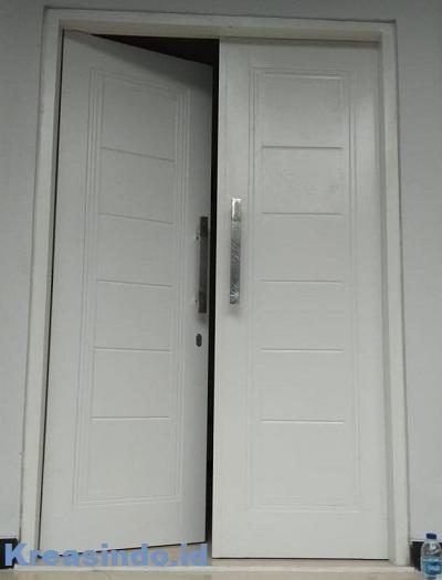Inilah Model Kusen Besi Pintu Panel Minimalis untuk Rumah Kekinian