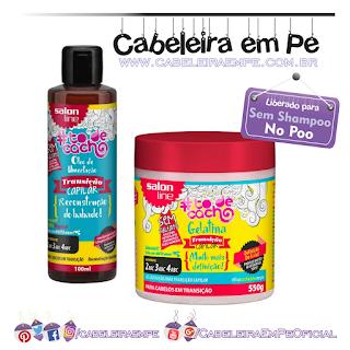 Composição Óleo e Gelatina Transição Capilar - Salon Line (Liberados para No Poo)