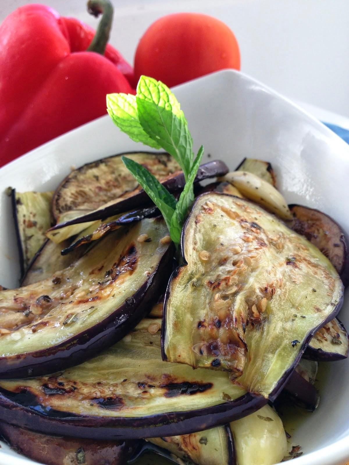 sweet kwisine, aubergines, caviar, apéritif, cuisine méditerranéenne, végétarien, cuisine légère