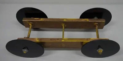 The base of the Gravity car