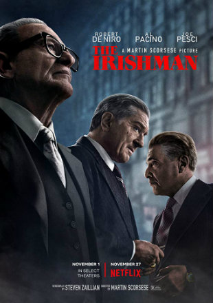 The Irishman 2019 HDRip 720p Dual Audio In Hindi English
