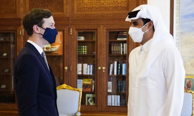 أمير قطر يستقبل مستشار الرئيس الأمريكي جاريد كوشنر ويبحث معه تطورات المنطقة!