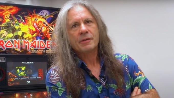 Bruce Dickinson explica porque Iron Maiden saca temas largos